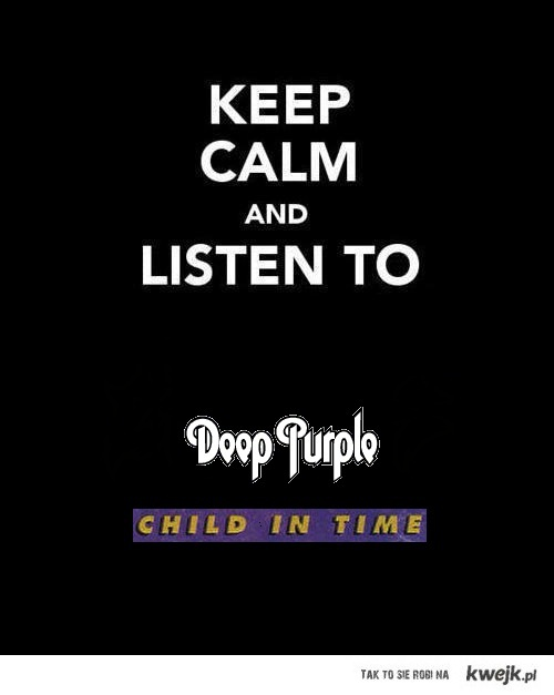 Deep purple Child in time