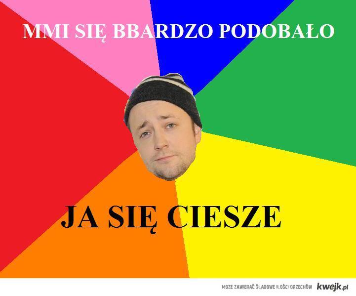 Czesław przemawia