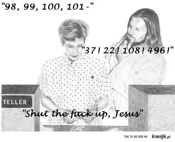 stfu jesus