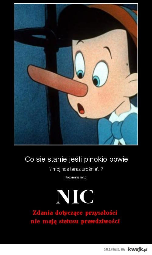 Pinokio - odpowiedź