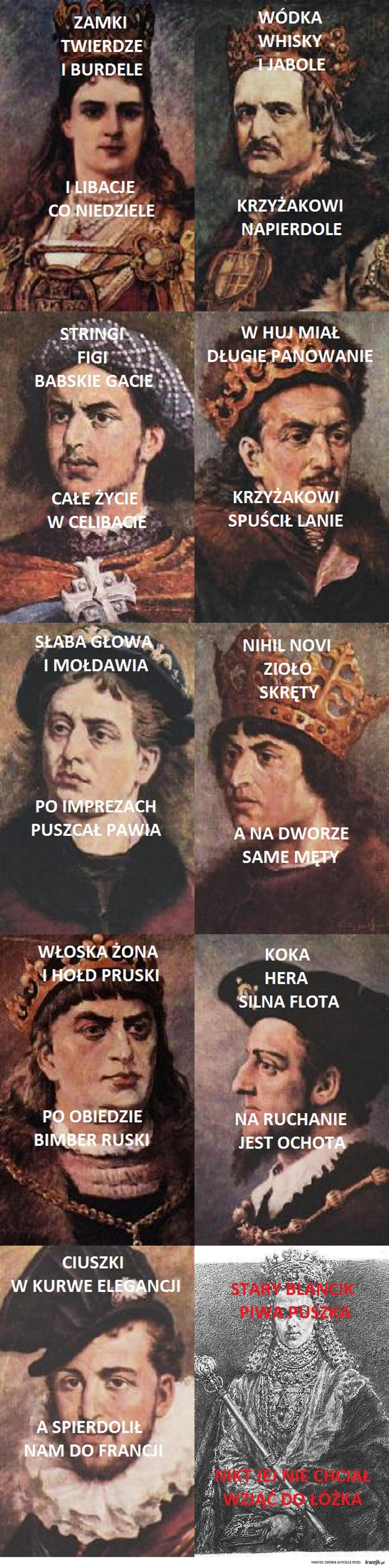 Poczet królów Polski cz.2