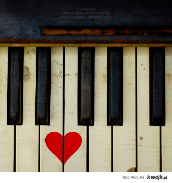 Fortepian z serduszkiem