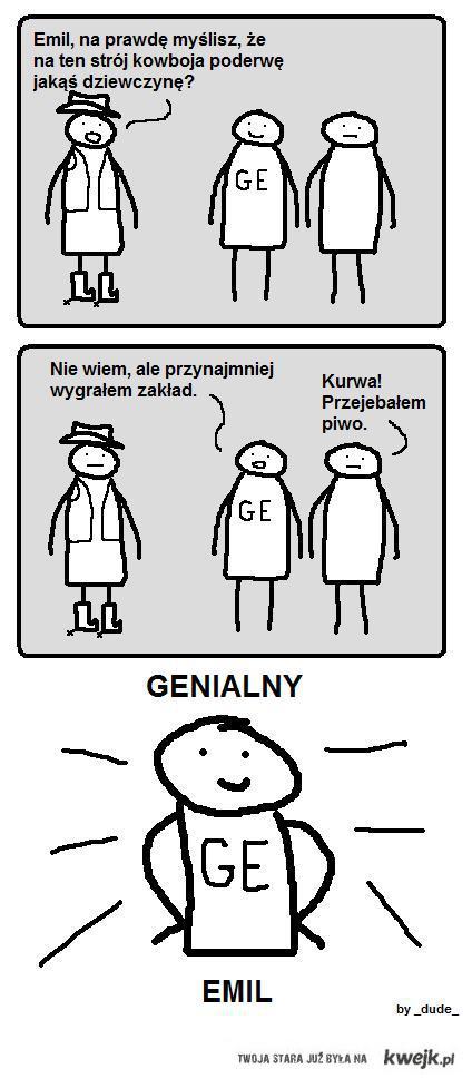 Genialny Emil zakład