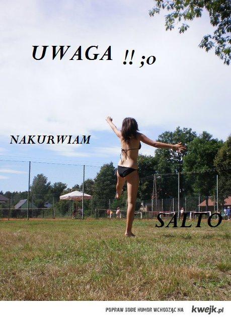 Marta nakurwia salto