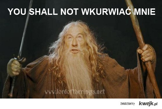 YOU SHALL NOT