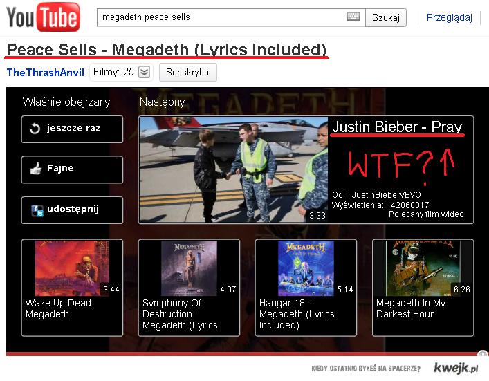 Youtube zna Twój gust.