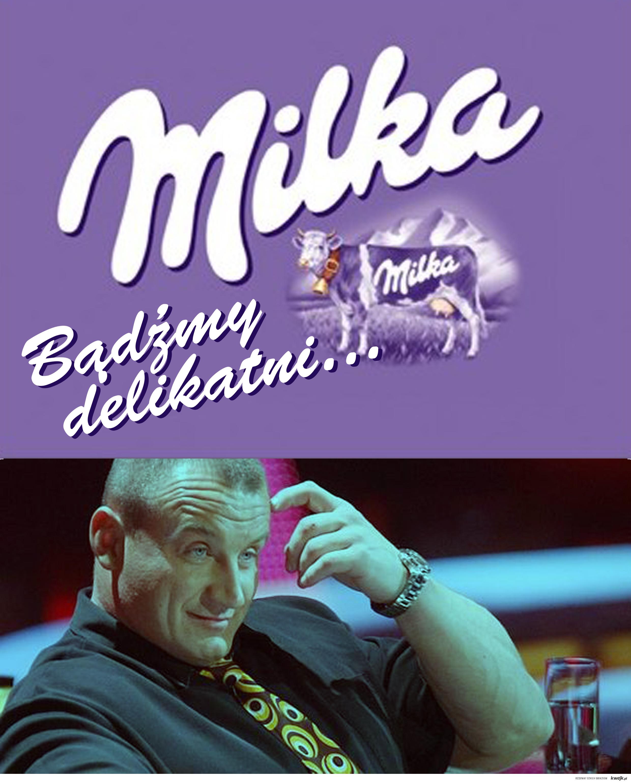 Pudzian vs Milka
