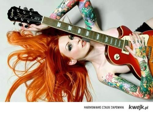 redhead tattoo