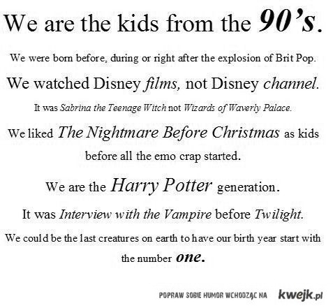 nasza generacja