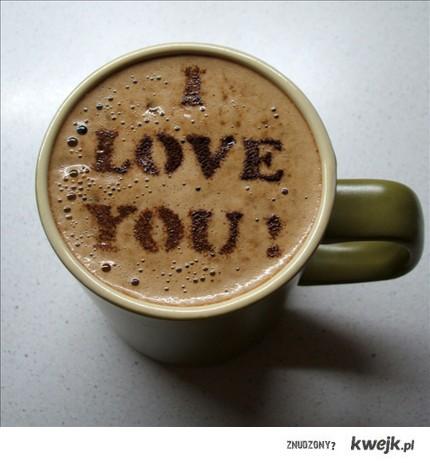 kawa miłości