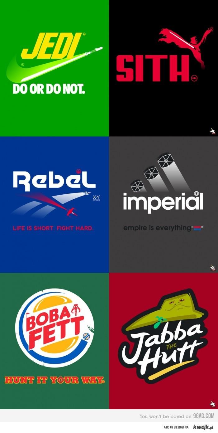 Star Wars - znaki markowe