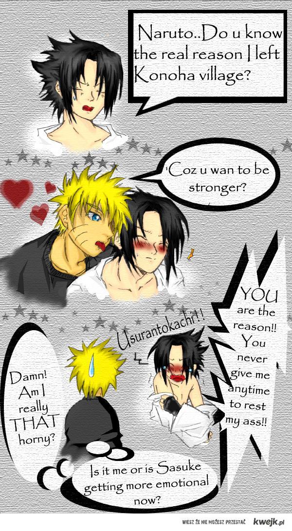 Naruto i Sasuke x3