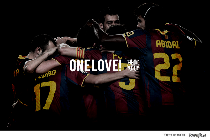 ONE LOVE!