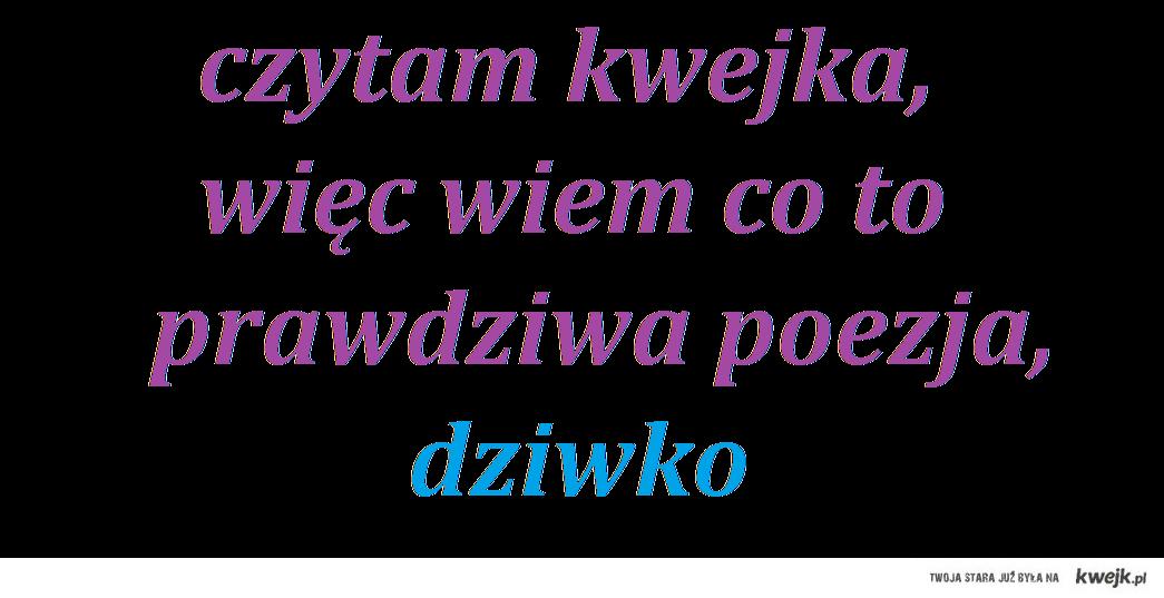 prawdziwa poezja