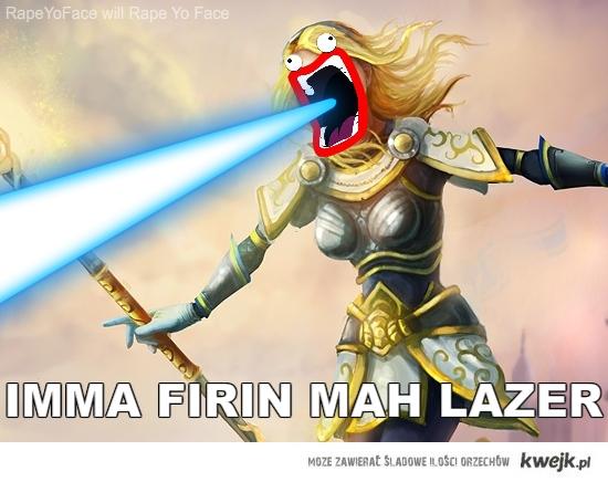 Imma firing mah lazer