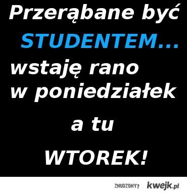żywot studenta