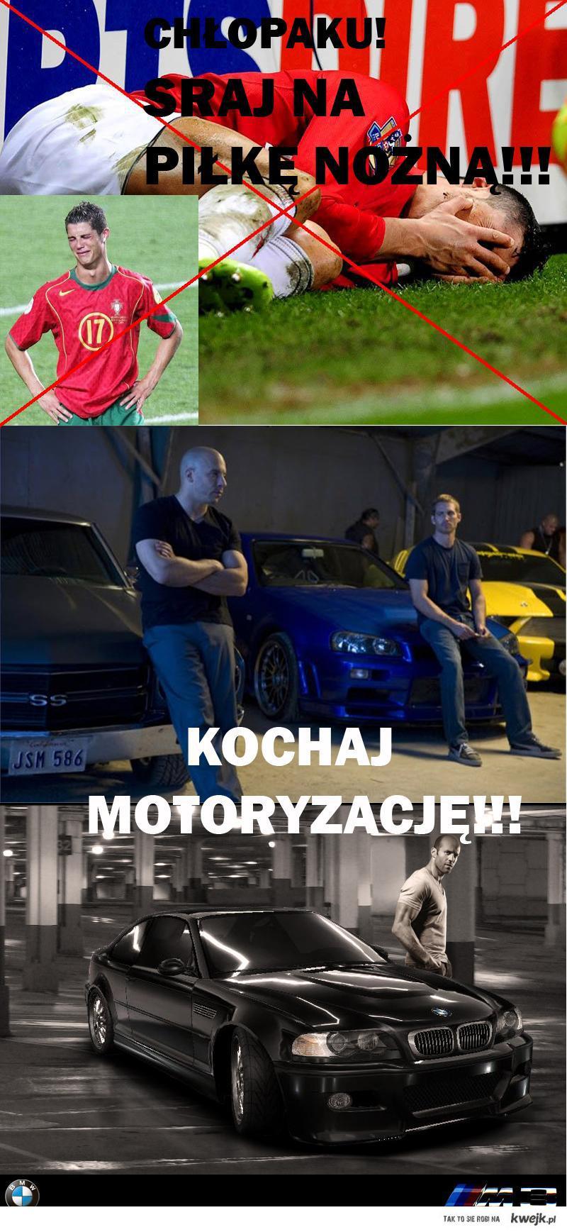 Piłka nożna vs. Motoryzacja