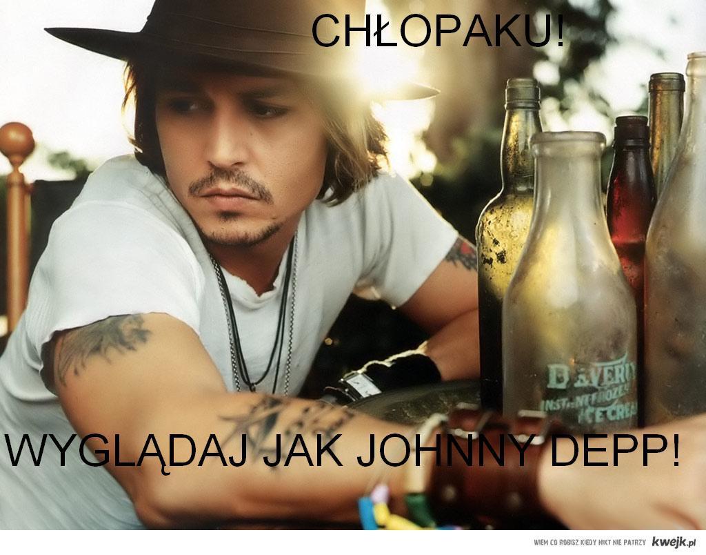 Chłopaku! Wyglądaj jak Johnny Depp!