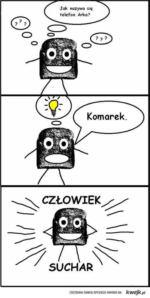 Człowiek Suchar - Telefon Arka