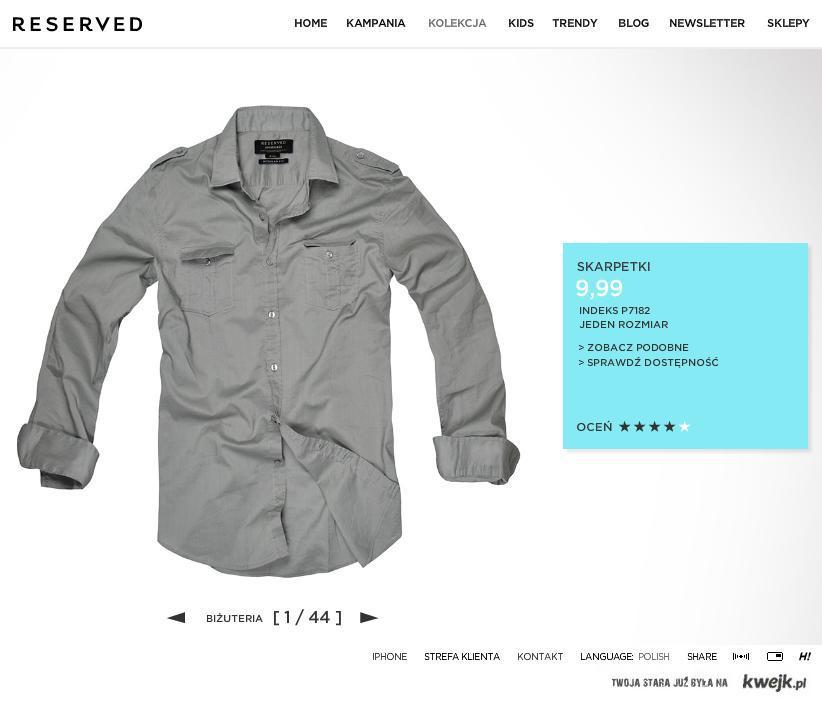 skarpetki reserved