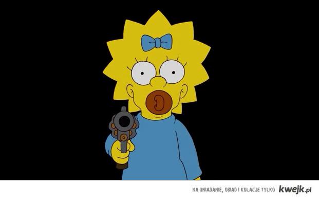 Maggie got a gun