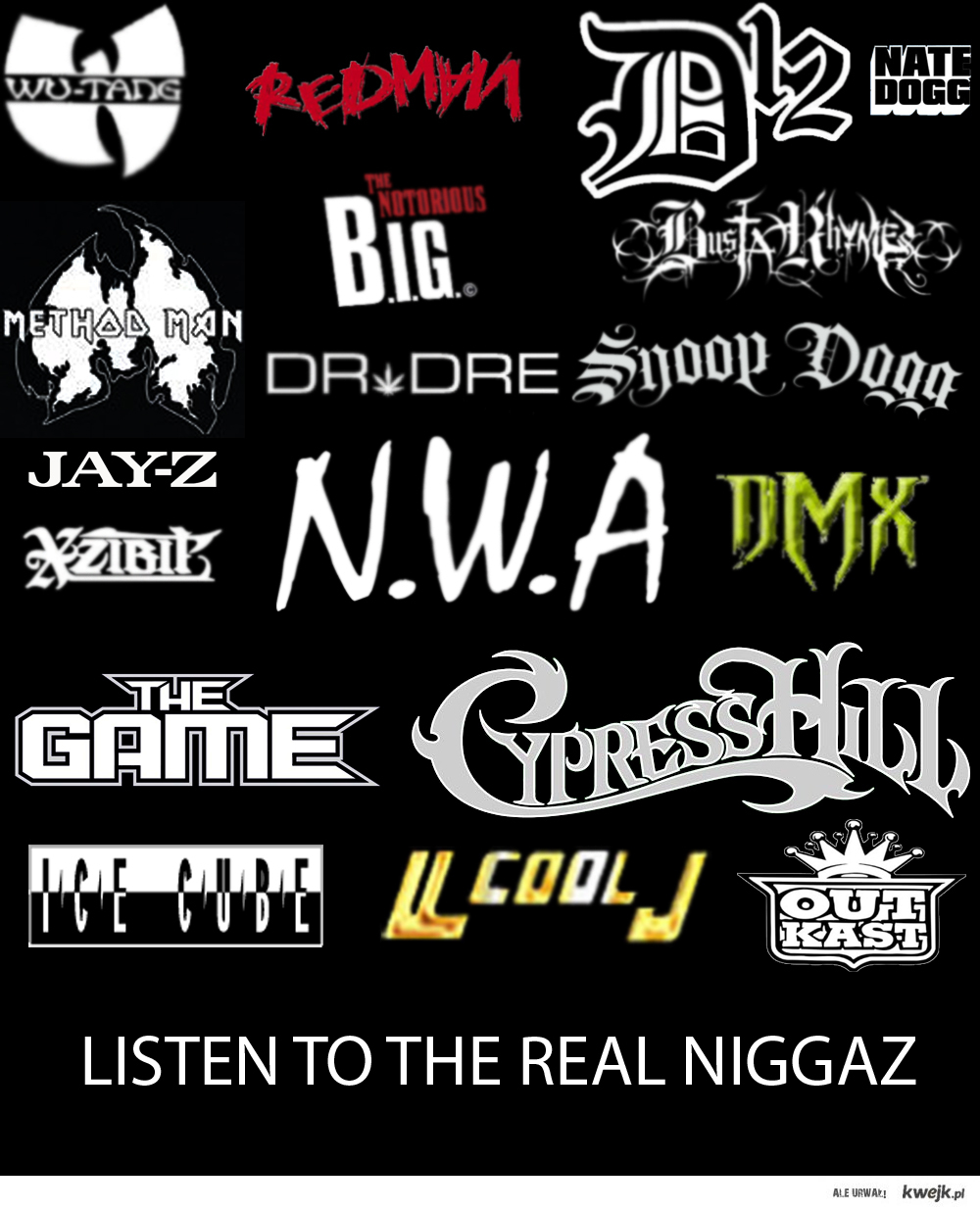 Listen To The Real Niggaz