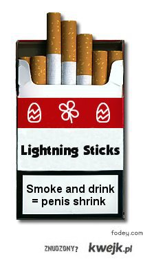 Stop smokin'