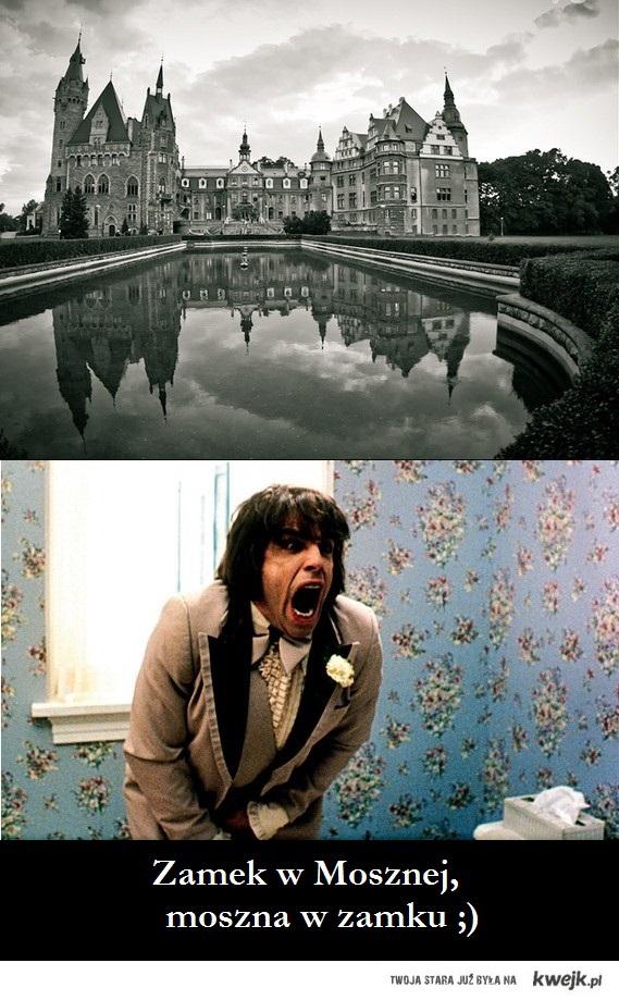 Zamek w Mosznej, ,moszna w zamku