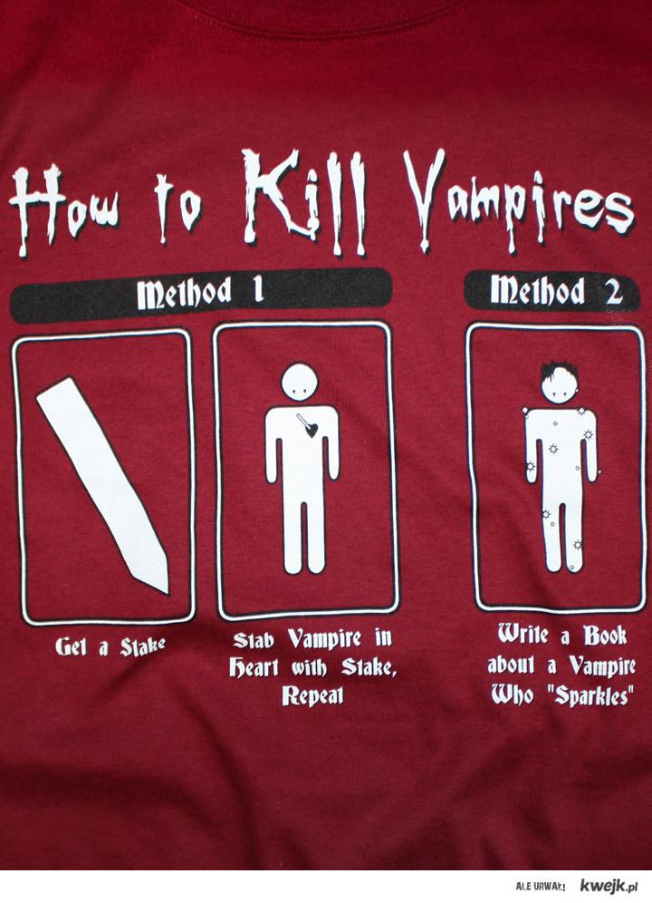 How to kill a vampires