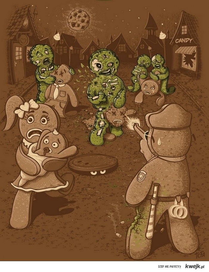 Ciasteczka Zombie