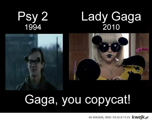 Gaga i Psy 2