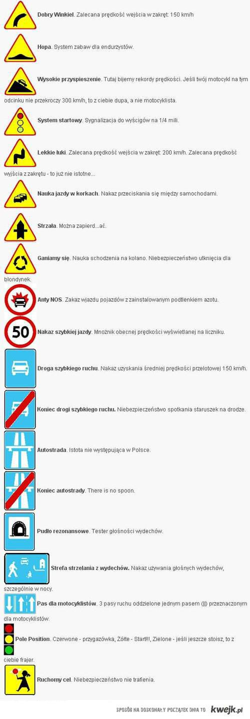 Dla motocyklistow