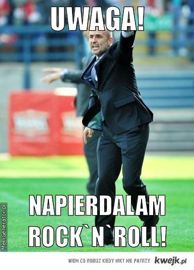 Wesoły trener