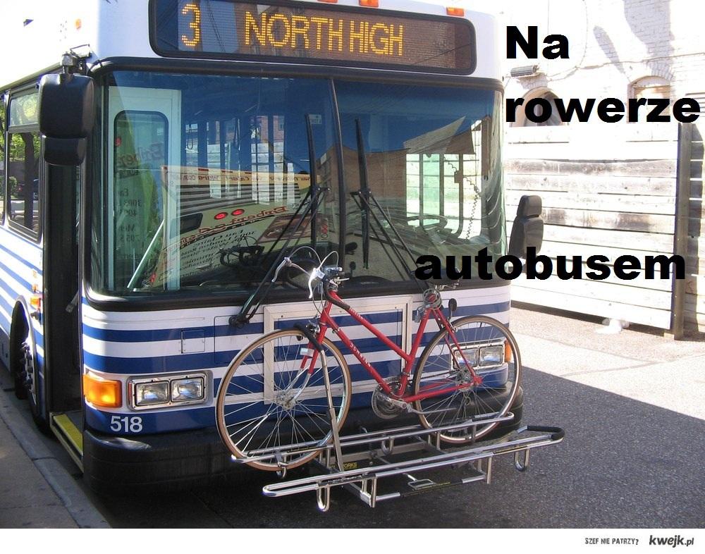 Na rowerze autobusem