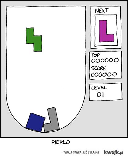 Tetris - difficulty: hard