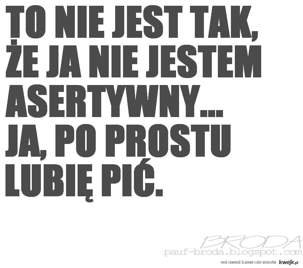 asertywny