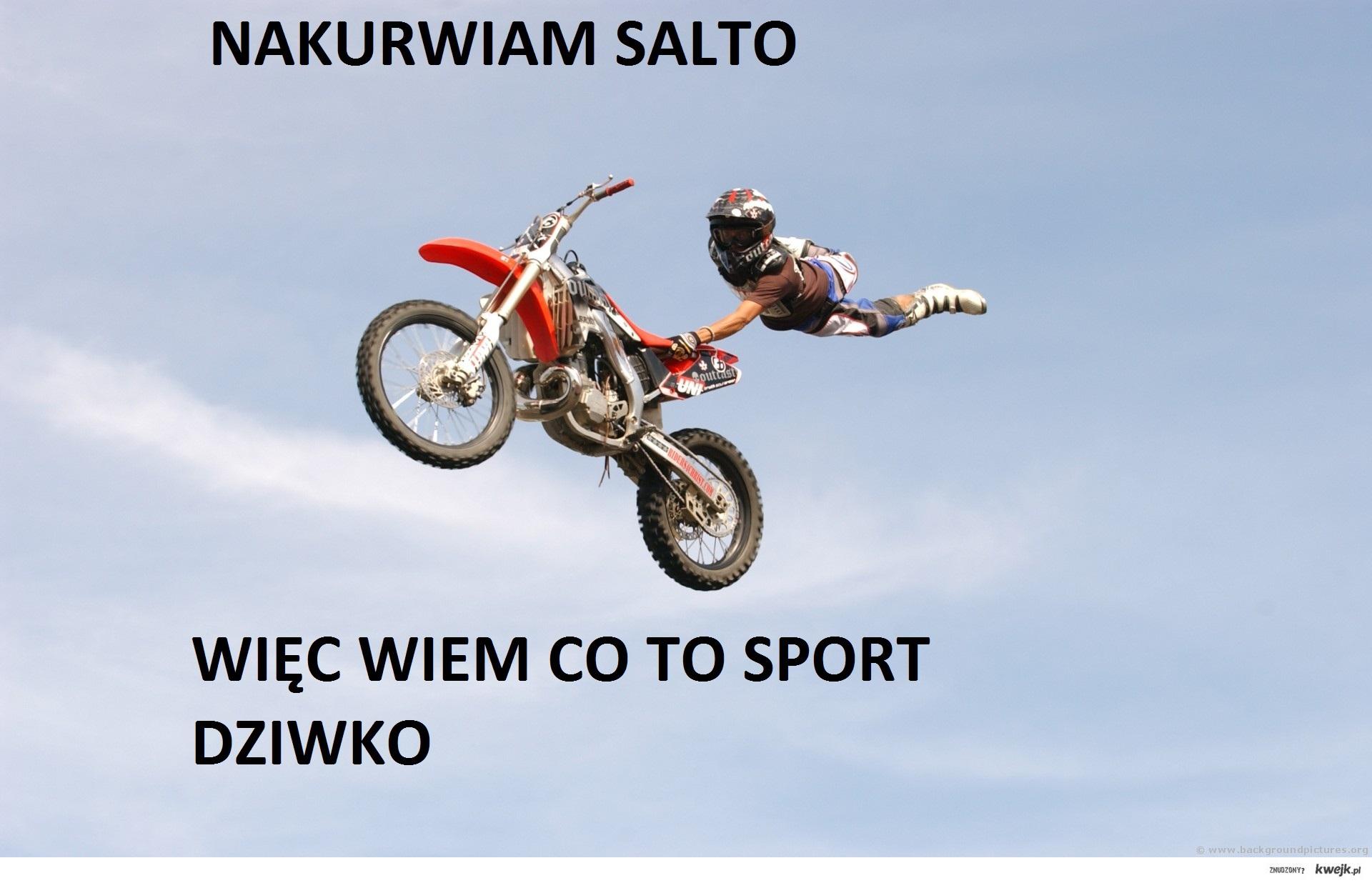 sportowe salto ;D