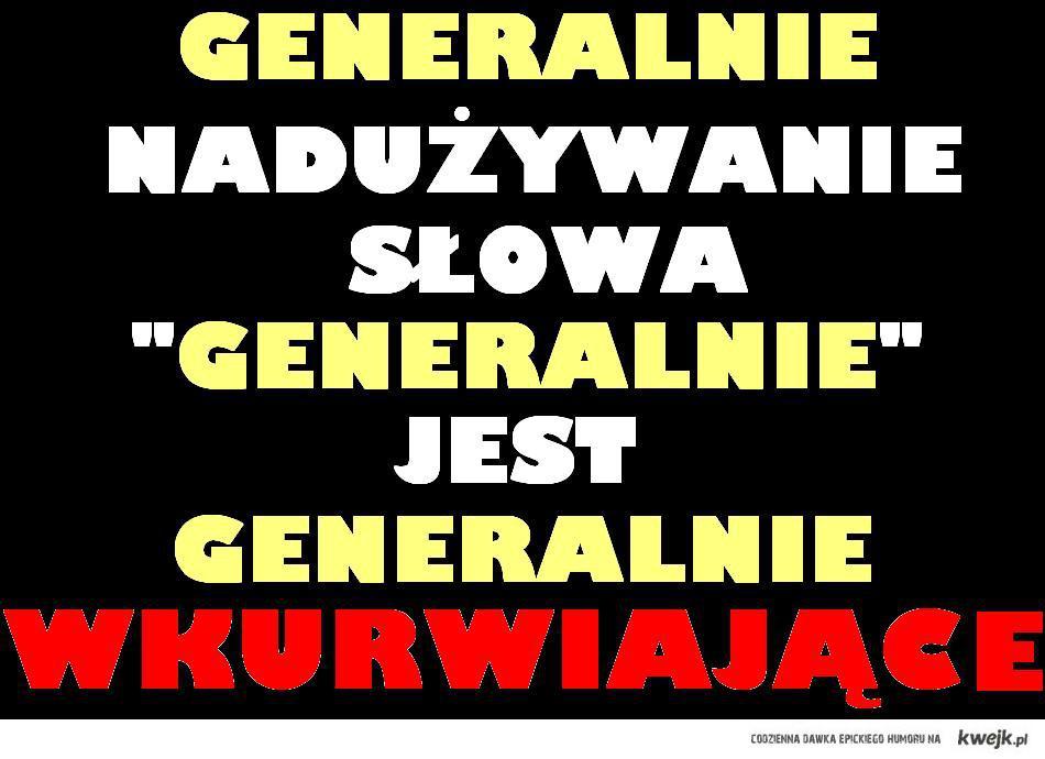 generalnie
