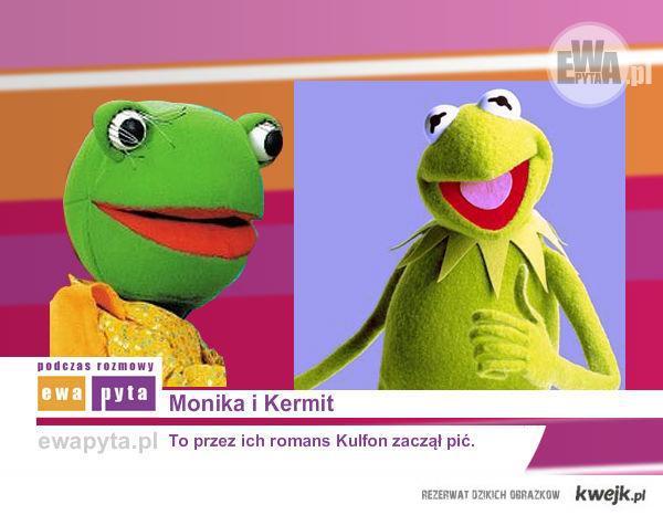Monika i Kermit