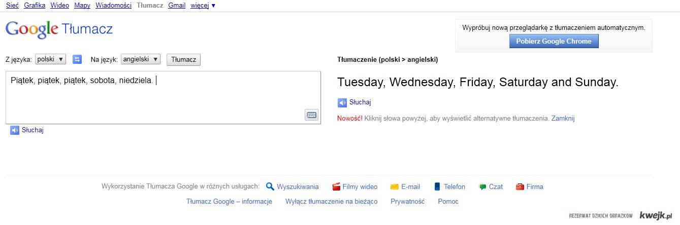 Google Translator.