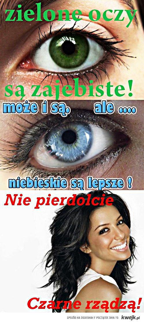 Czarne oczy rlz!