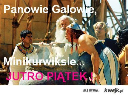 Panowie Galowie, Minikurwiksie... Jutro piątek !