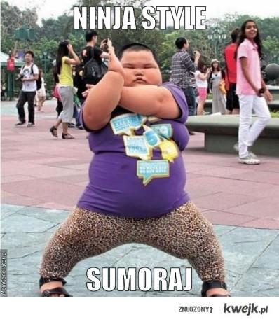 Ninja style!