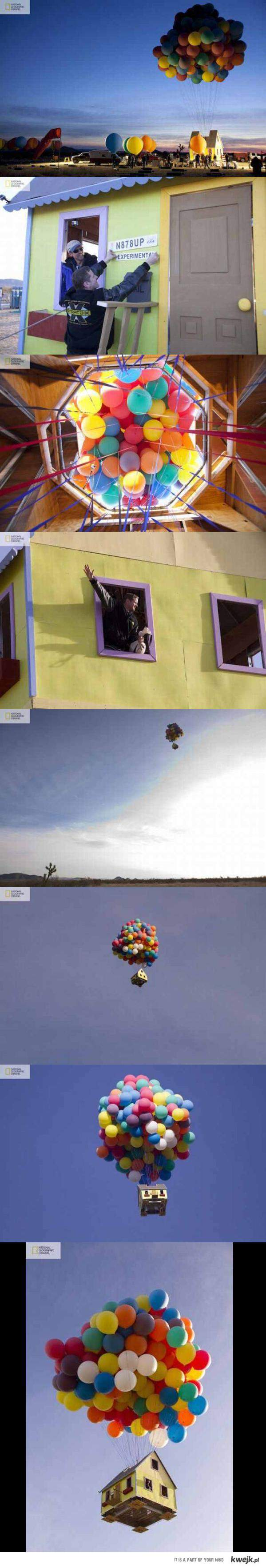 latający dom