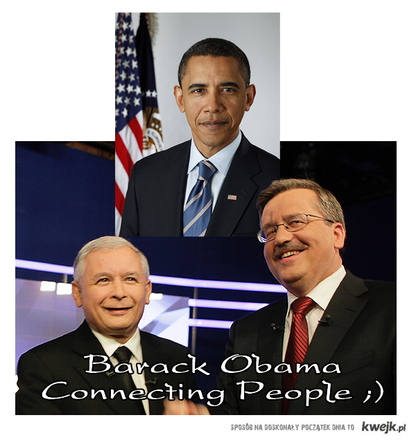 Obama - Connecting People