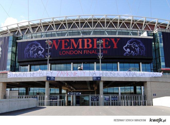 Wembley zamknięte