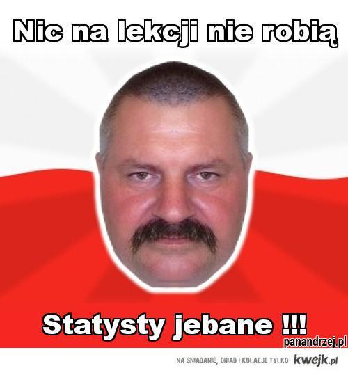pan andrzej - statysty