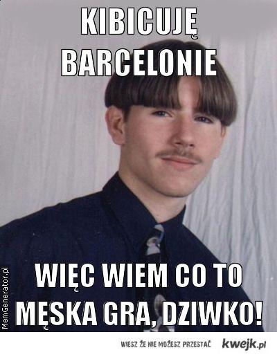 Kibicuję Barcelonie