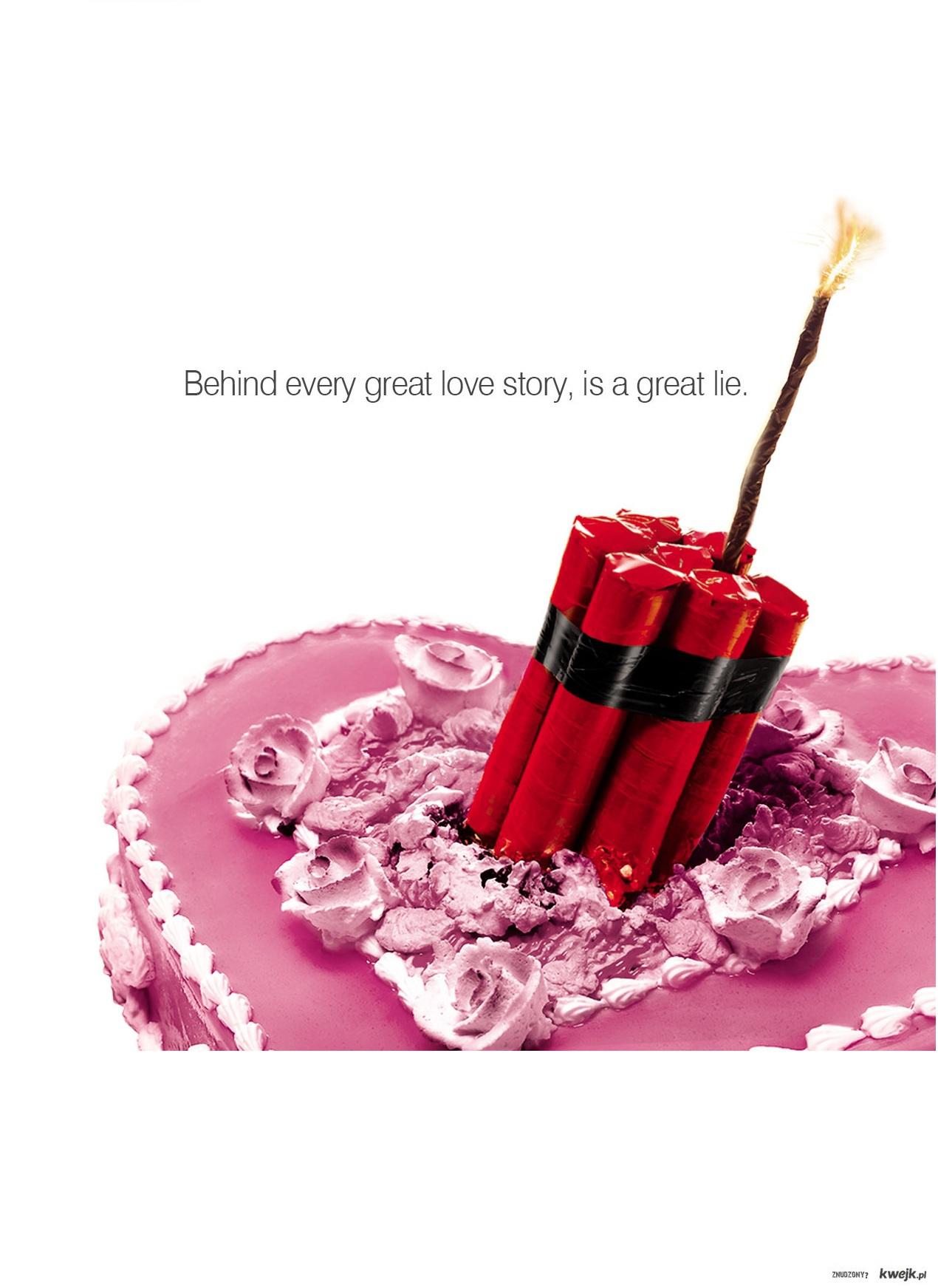 Behind love