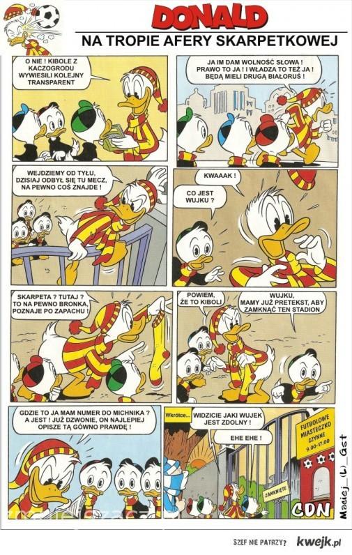 Donald na tropie zbrodni